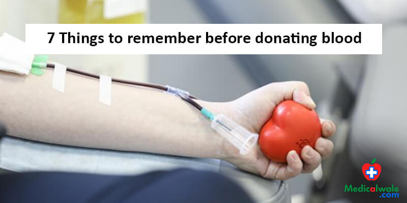 Donating blood? Look at these things before you do it.