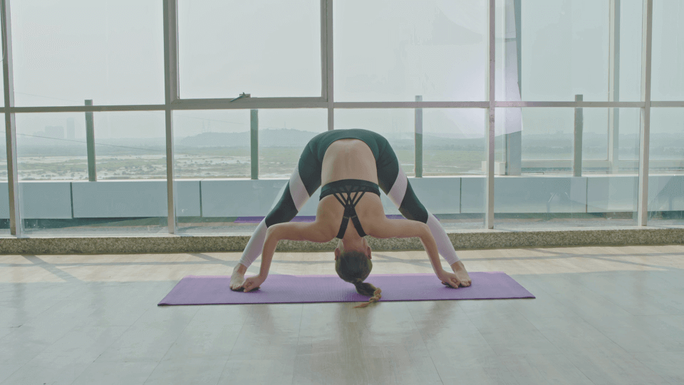 Prasarita Padottanasana (Wide-Legged Forward Bend)